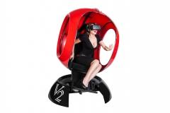 Красный шар выгодный бизнес с очками VR Oculus Rift CV1