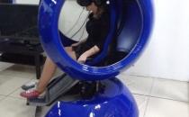 Синий шар аттракцион в Устюге