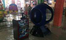8D аппарат синий шар в виртуальном шлеме Oculus VR