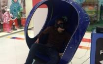 Питерский VR FutuRift с джойстиком и двигающимся креслом