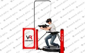 бегать стрелять прыгать в очках VR в игре