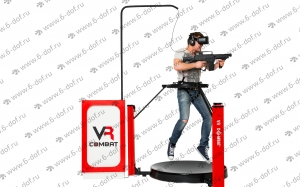 Бегать прыгать и стрелять и в игре и в реальности VR