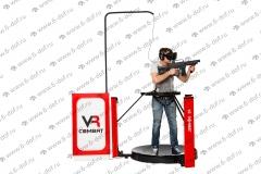 VR Combat российский аналог Omni Cyberith шутер