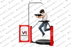 VR Combat аттракцион дорожка стрелялка российский аттракцион