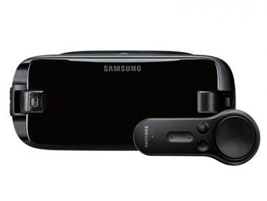 Samsung Gear VR и пульт контроллер , VR гарнитура