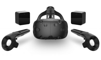 VR гарнитура, датчики и контроллеры HTC Vive