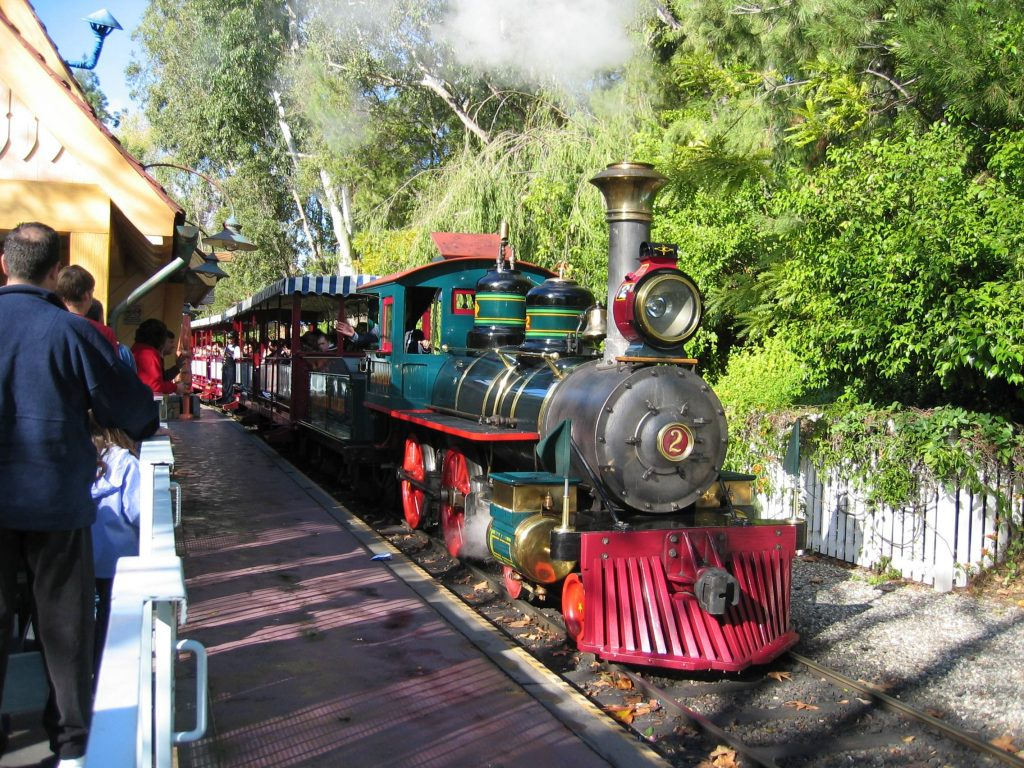DisneylandTrainLocomotive
