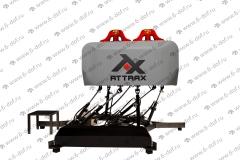 AttraX двухместный симулятор управления самолетом VR