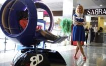 Кресло движется в такт с очками VR вложение в бизнес идею Альметивск