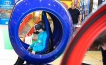 Аттракцион VR с джойстиком в очках VR бизнес для торгового центра
