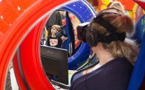 Одноместный аттракцион VR для парков и торговых цетров