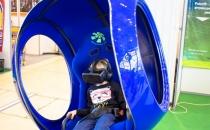 Детский аттракцион виртуальной реальности в торговом центре