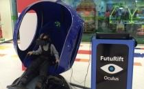 Динамическая виртуальная синяя капсула с джойстиком в Санкт-Петербурге
