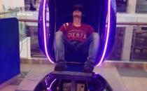 Капсула с динамикой в виртуальном шлеме Мозаика Москва