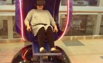 Электрическое кресло с очками VR в Москве