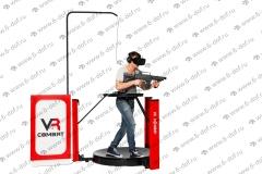 Дорожка ходилка в виртуальной реальности VR с джойстиком