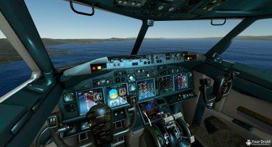 VR управление самолетом