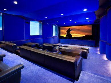 Красивый кинотеатр