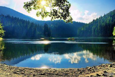 Озеро на природе
