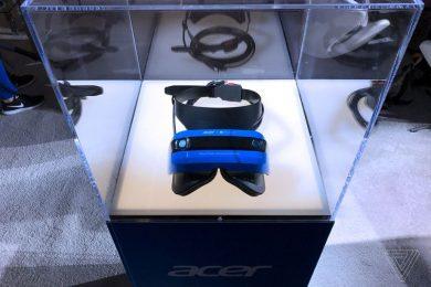 MR гарнитура от Acer
