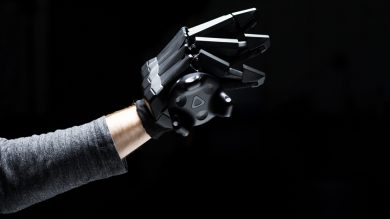 перчатки vr от VRgluv