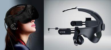 HTC Vive Deluxe Audio Strap со специальным креплением для Vive Pre