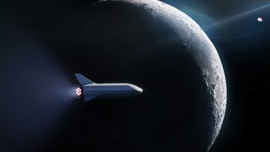 spacex moon