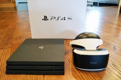 PS 4 pro и PS VR